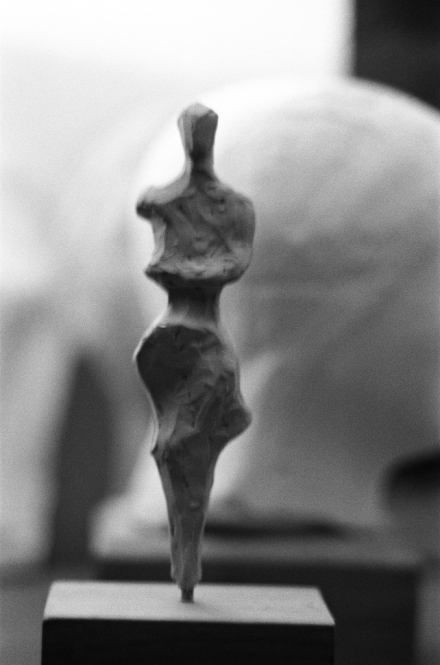 Kleine stehende Figuration, Model, L. 22 cm, 2012